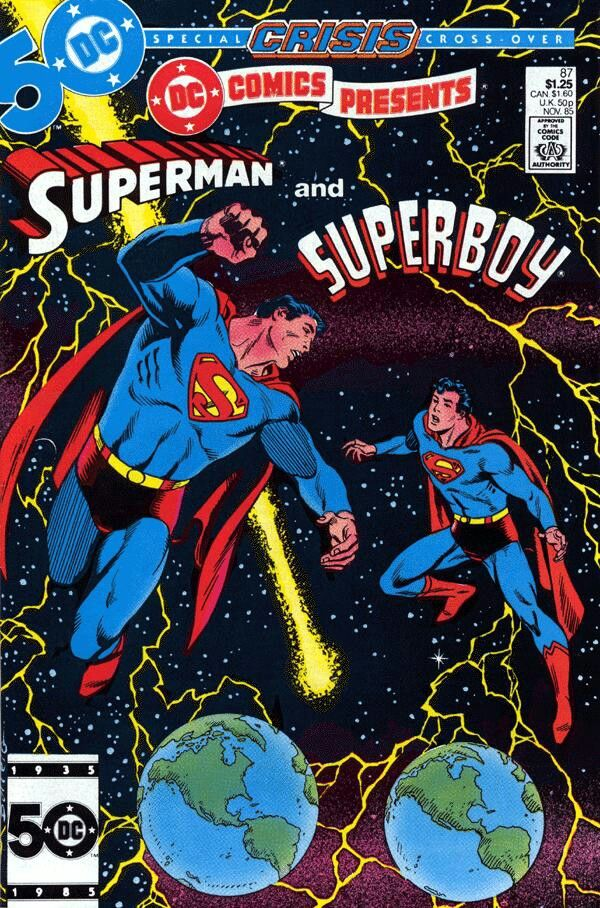 DC Comics Presents #87--first Superboy-Prime