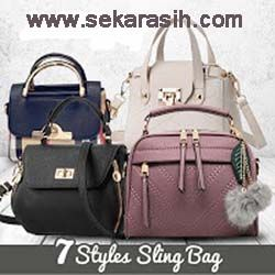 sekarasih.com adalah Toko Online Termurah Dan Terpercaya Di Indonesia  BEST  SELLER SLING BAG TAS WANITA IMPORT c68a812eab