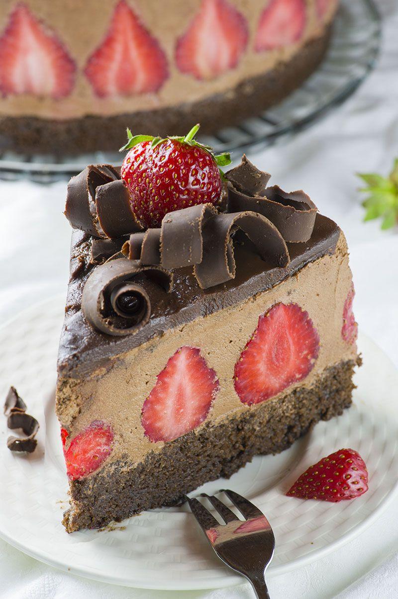 Strawberry Chocolate Cake Recipe Chocolate Strawberry