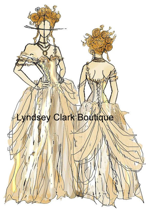 Steampunk Cinderella- esque wedding dress. Lyndsey Clark boutique ...