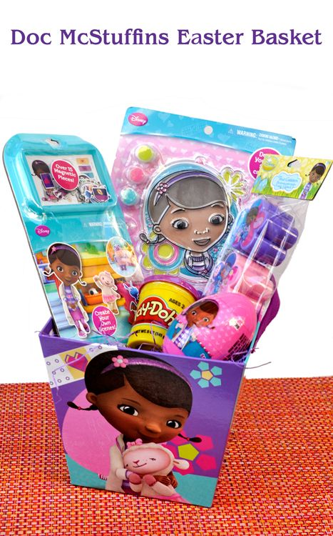 Doc mcstuffins easter basket all things disney pinterest basket ideas negle Image collections
