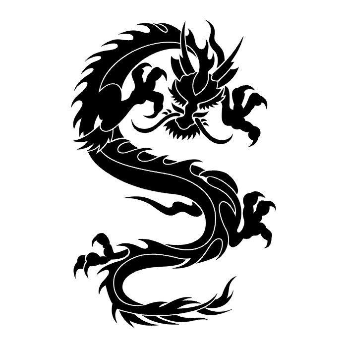Japanese Dragon Tattoo Designs Dragon 2 110 Tattoo Design Dragon Tattoo Stencil Tattoo Stencils Black Dragon Tattoo