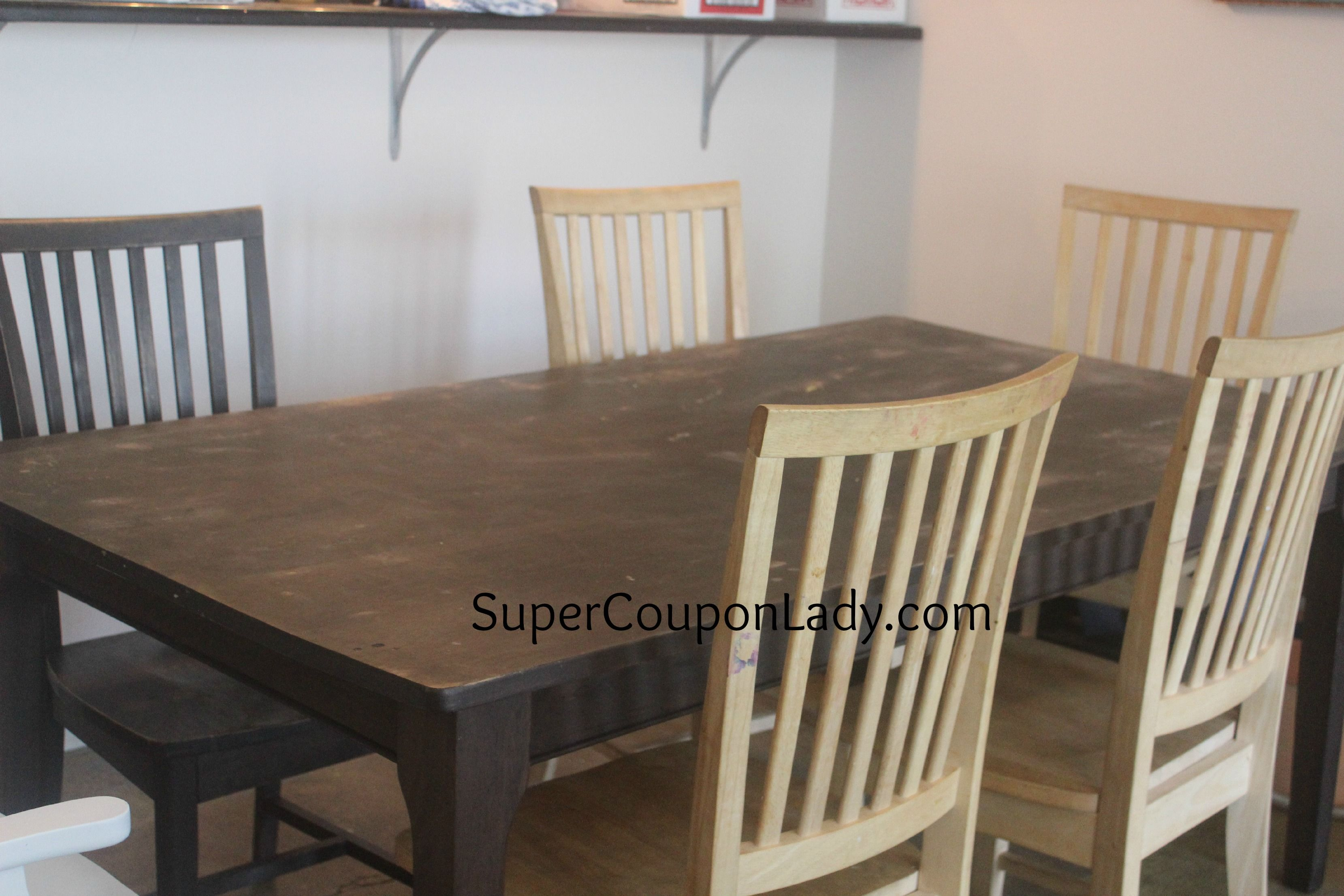 DIY Project: Refinishing Dining Room Table U0026 Chairs