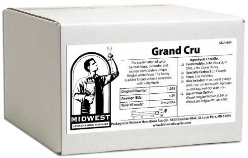 Grand Cru W White Labs Belgian Wit Ale 400 By Midwest Homebrewing