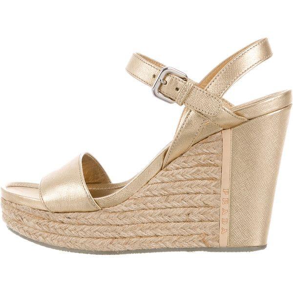Prada Sport Metallic Flatform Sandals wholesale price sale fashion Style shopping online cheap online EzYDY