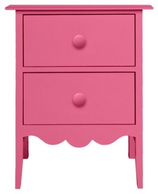 Best Nellie 2 Drawer Bedside Table In Mixed Berry Maine 400 x 300