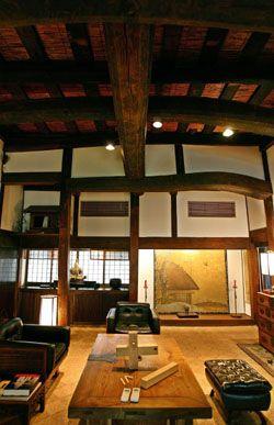 Japan--minka with a Kura door made into a coffee table. & Japan--minka with a Kura door made into a coffee table. | Interior ...