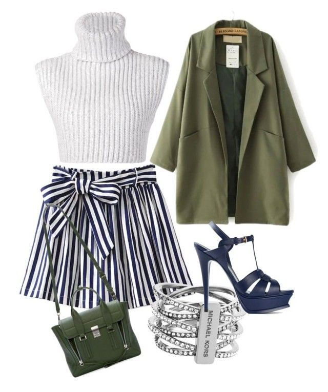 """""""Untitled #53"""" by victorine-b ❤ liked on Polyvore featuring Baja East, Michael Kors, Yves Saint Laurent and 3.1 Phillip Lim"""