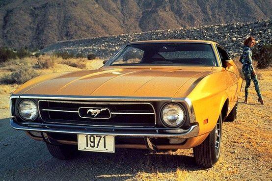 71 Mustang Ad Ford Mustangs Ford Mustang Mustang