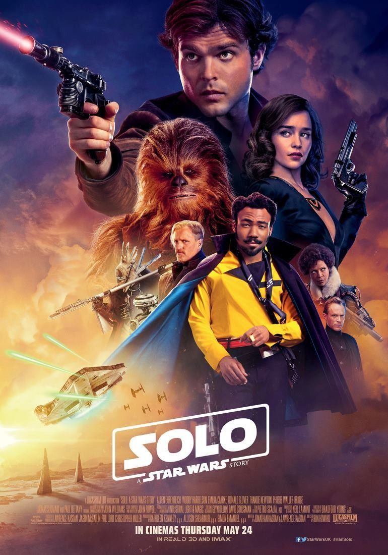 24 Movie Online 11 9 Solo A Star Wars Story Uk Movie Poster Hq Art Print 21 14