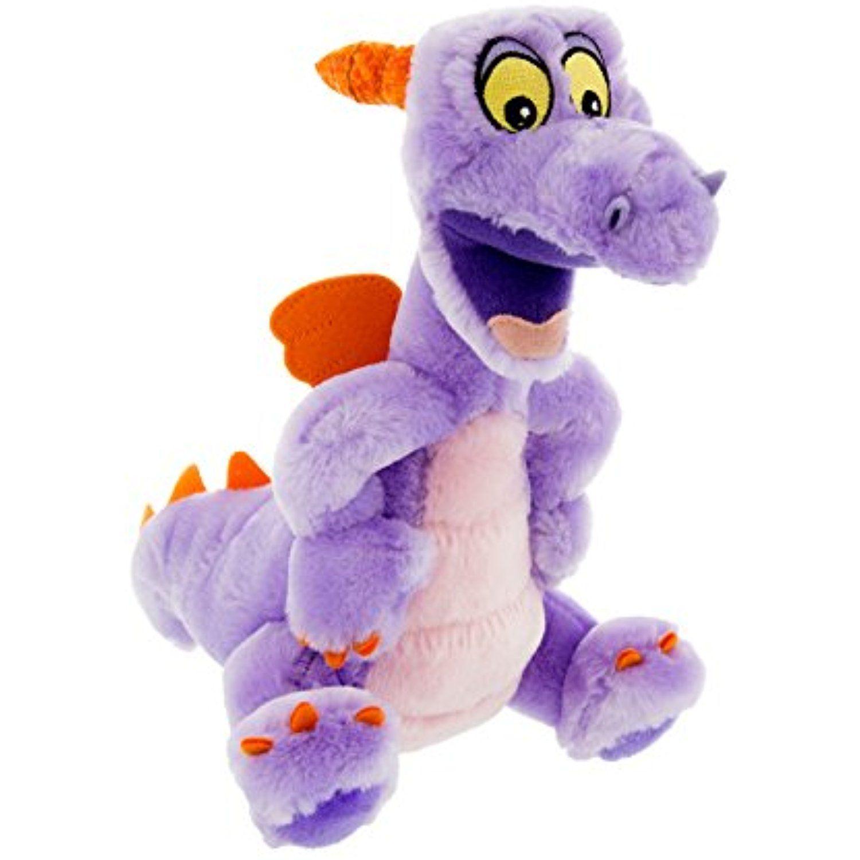 Walt Disney World Figment Epcot Purple Dragon 9 Inch Plush Doll