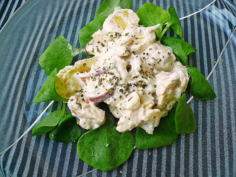 Ralfs Kartoffelsalat mit Joghurt und Äpfeln