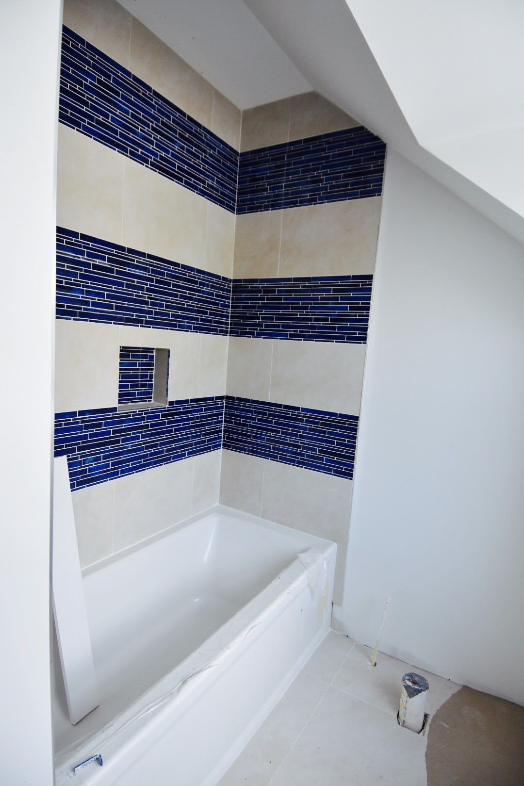 Old Court Rd Pikesville Md New Tile Gives This 1940S Built Impressive Bathroom Remodeling Baltimore Design Ideas