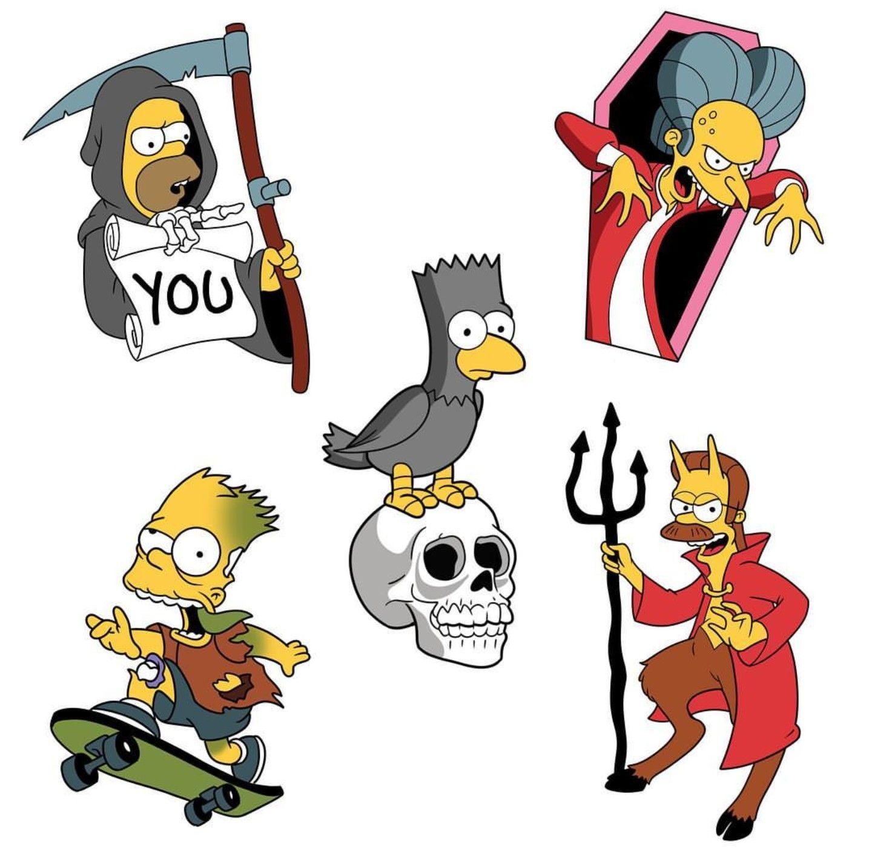 Pin De Adrian Montero En Ideas Para Remeras Tatuaje De Los Simpsons Personajes De Los Simpsons Los Simpsons Dibujos