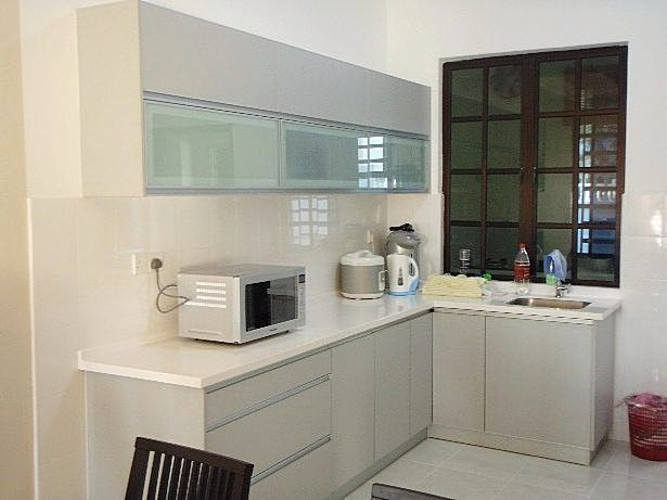 Model kitchen set aluminium dapur minimalis idaman for Kitchen set aluminium