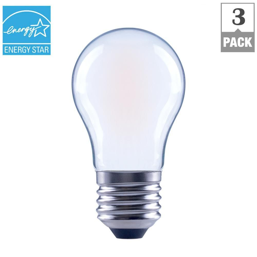 Ecosmart 60 Watt Equivalent A15 Dimmable Frosted Filament
