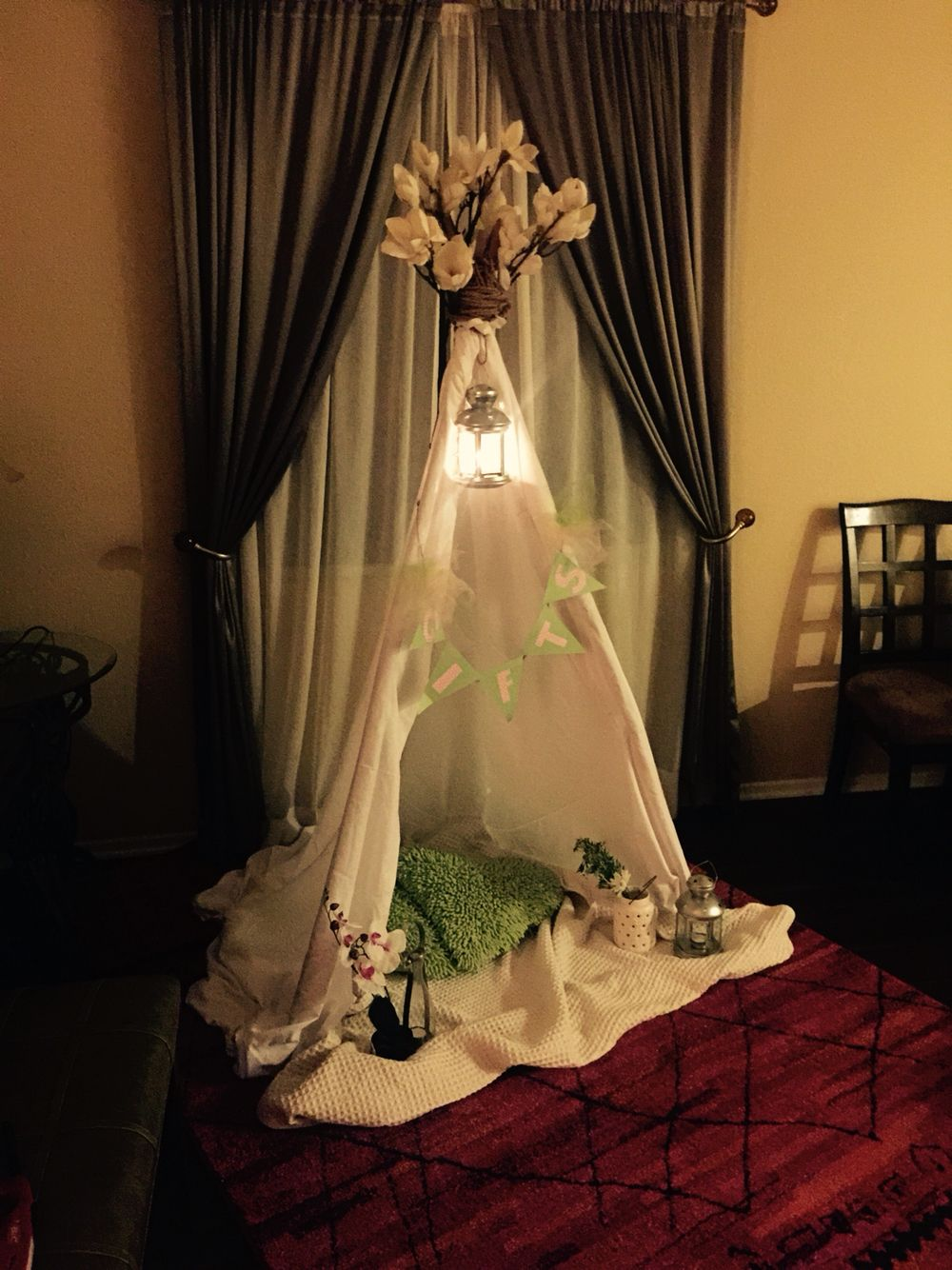 Diy Baby Shower Tee Pee ❤️