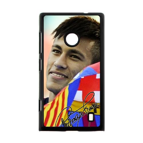 Neymar FIFA World Cup Flag FCB Case for Nokia Lumia 520