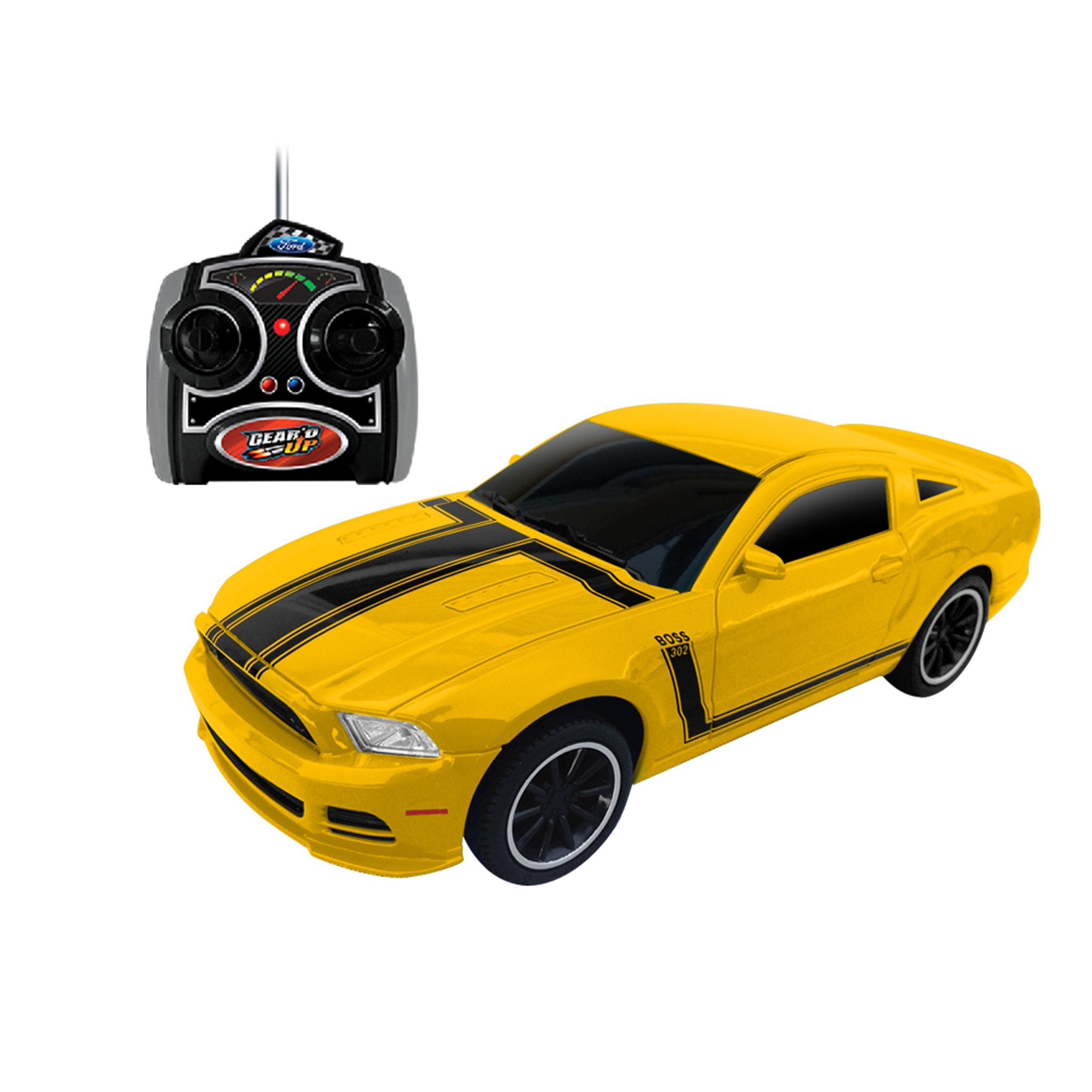 1:24 Scale Ford Mustang Boss 302 RC Gear\'d Up Yellow | Products ...