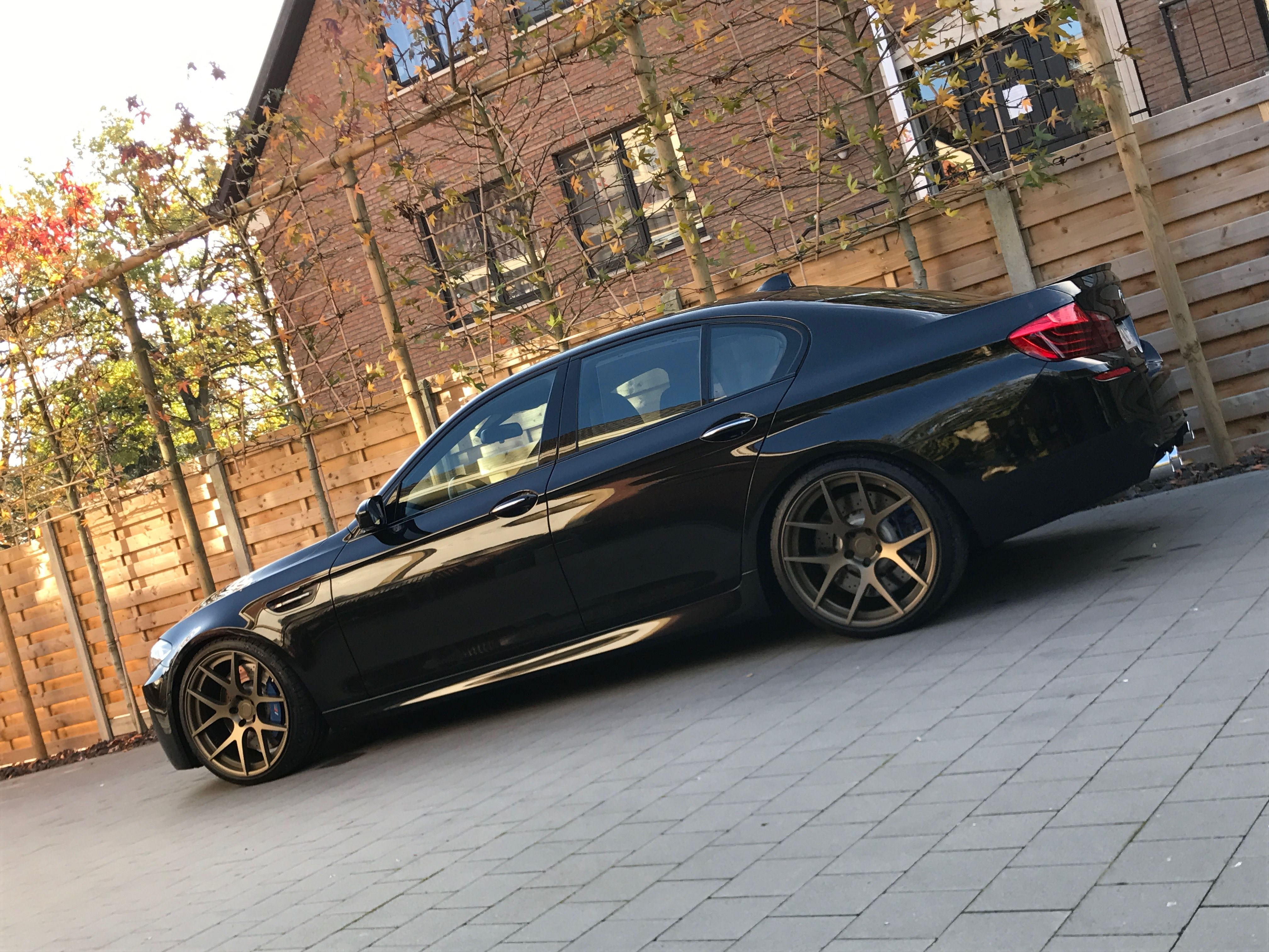 Bmw M5 F10 Black Bc Forged Matte Bronze Kw Eisenmann