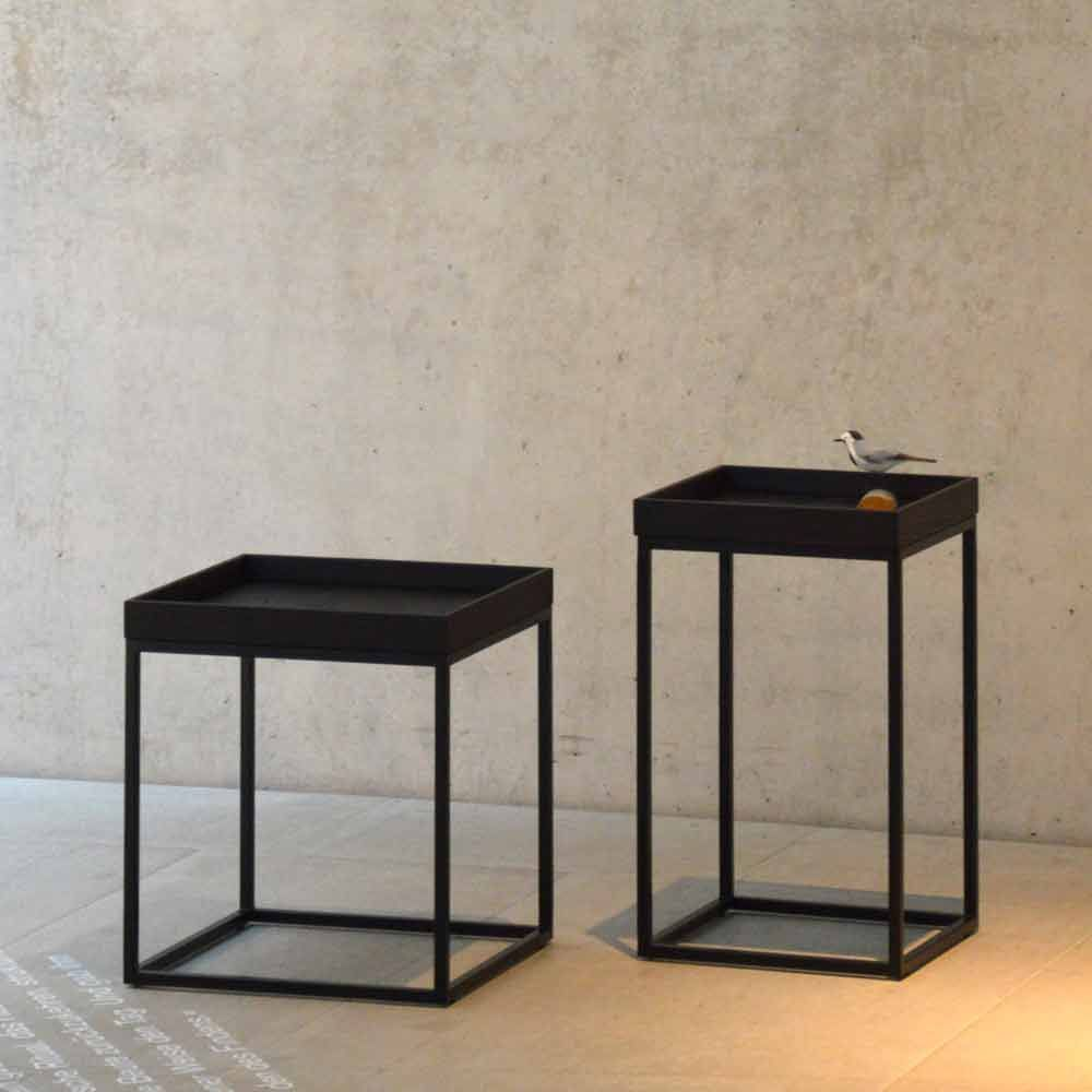 Jan Kurtz Tabletttisch Pino Schwarz Tabletttisch Tisch Dekor