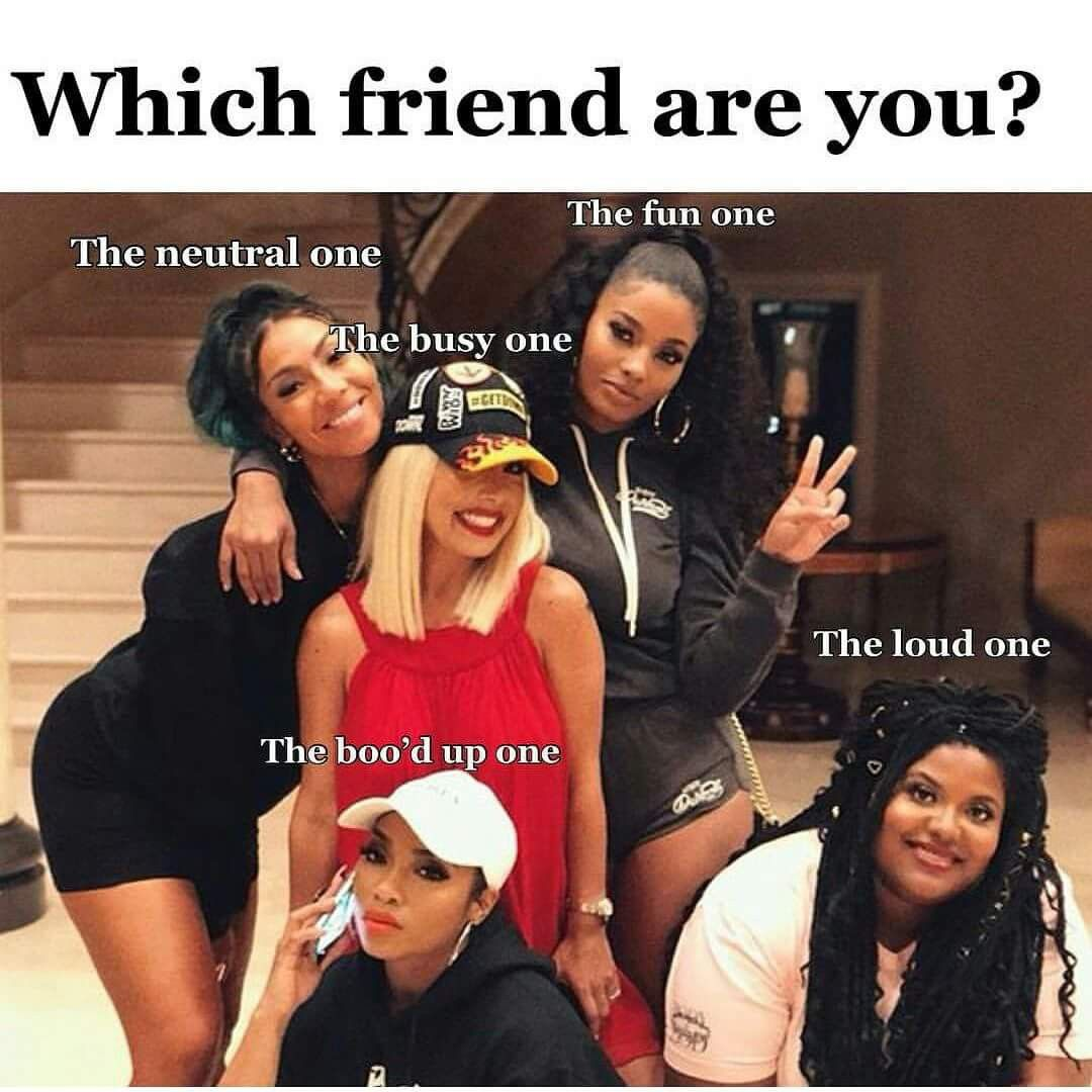 Pin by Kyla on Females. Funny best friend memes, Squad
