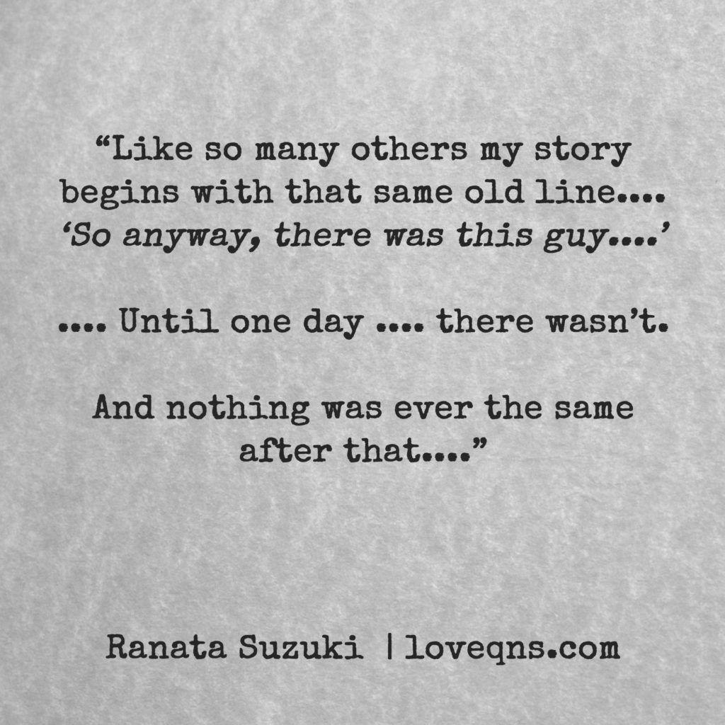 Pin on Ranata Suzuki Quotes