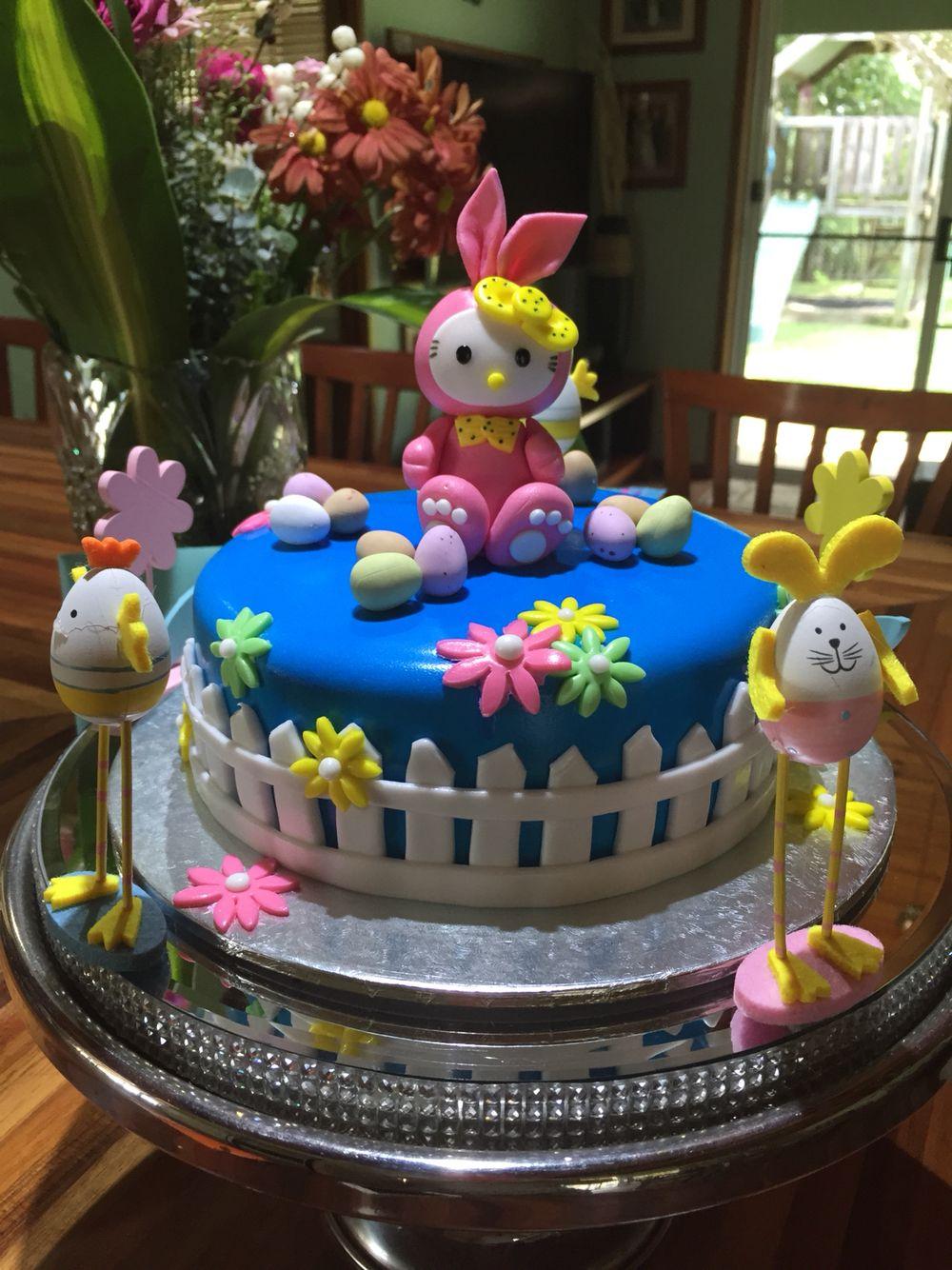 Hip hop Easter cake