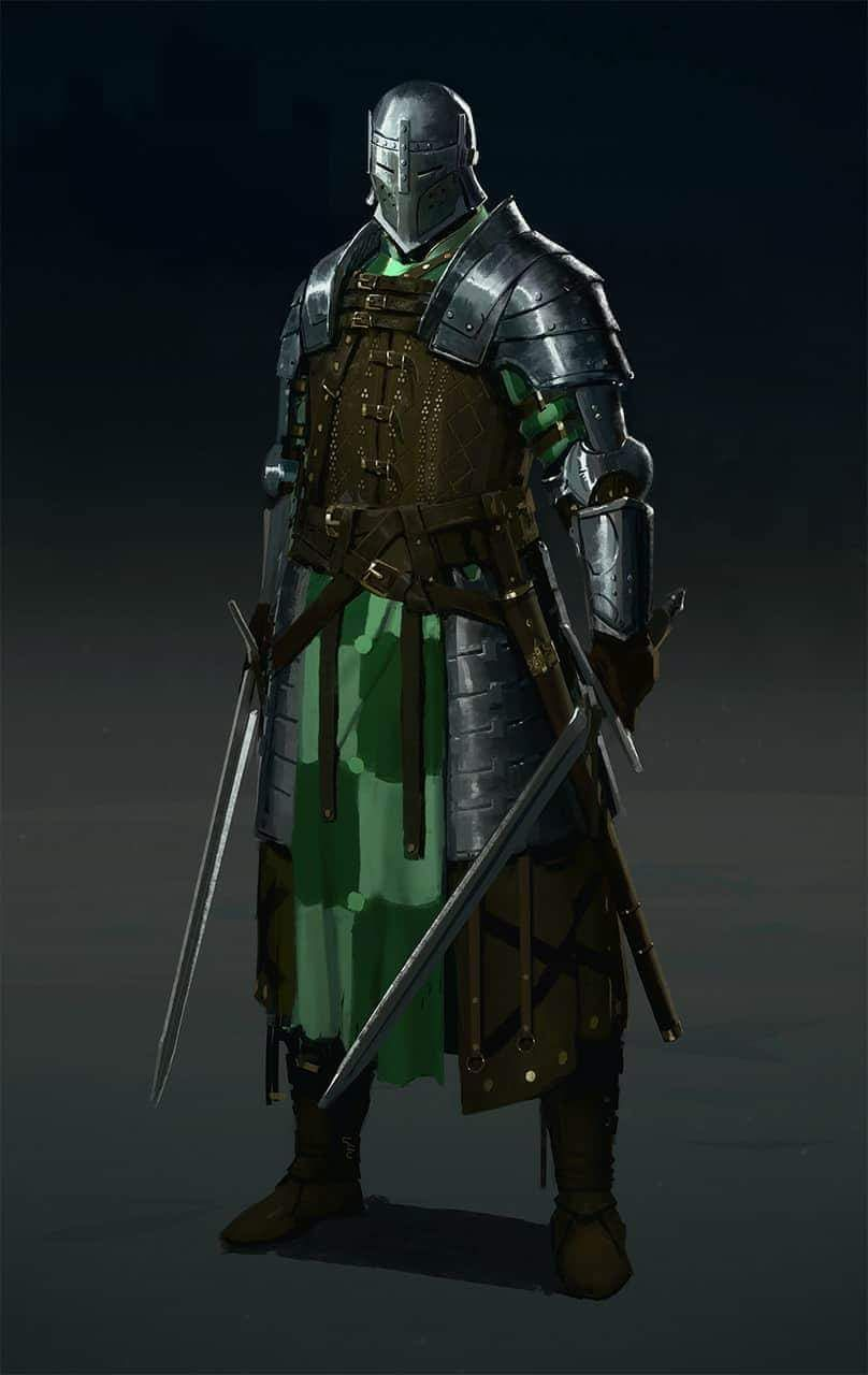 Knight Armor Fantasy Art