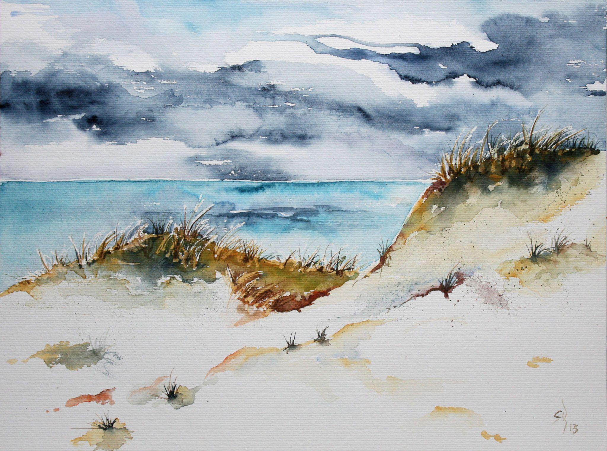 Landschaften - MachART-Bettina Rothfuss: Aquarell • Mixed ...