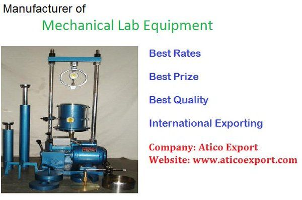We are the manufacturer and supplier of complete #mechanical #lab - mechanical equipments list
