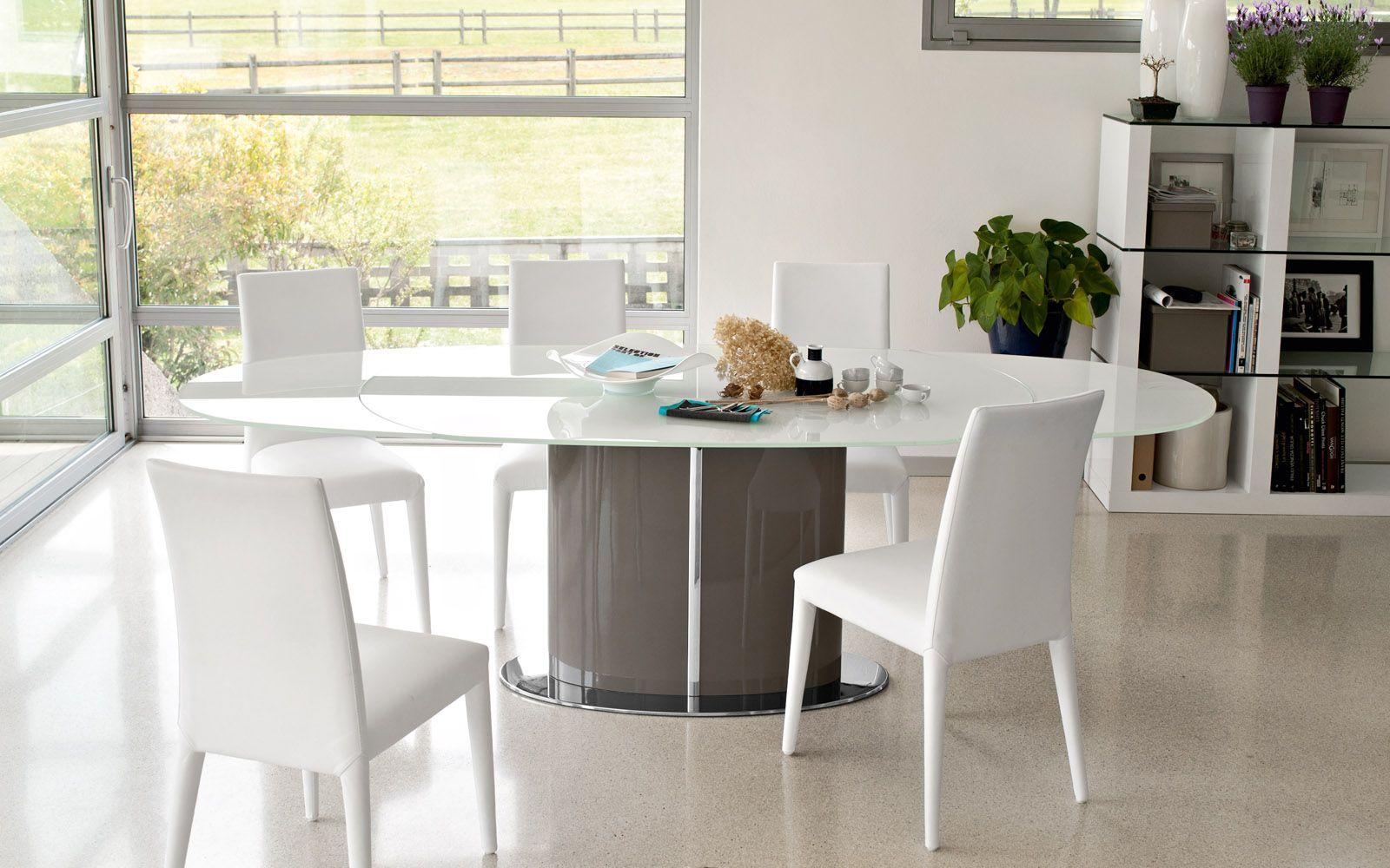 Odyssey oval extending dining table Calligaris | CS/4043 | tafels ...