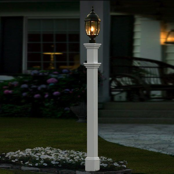 Post lamp a little molding added to the post patio post molding post lamp a little molding added to the post patio post molding pinterest moldings patios and house workwithnaturefo