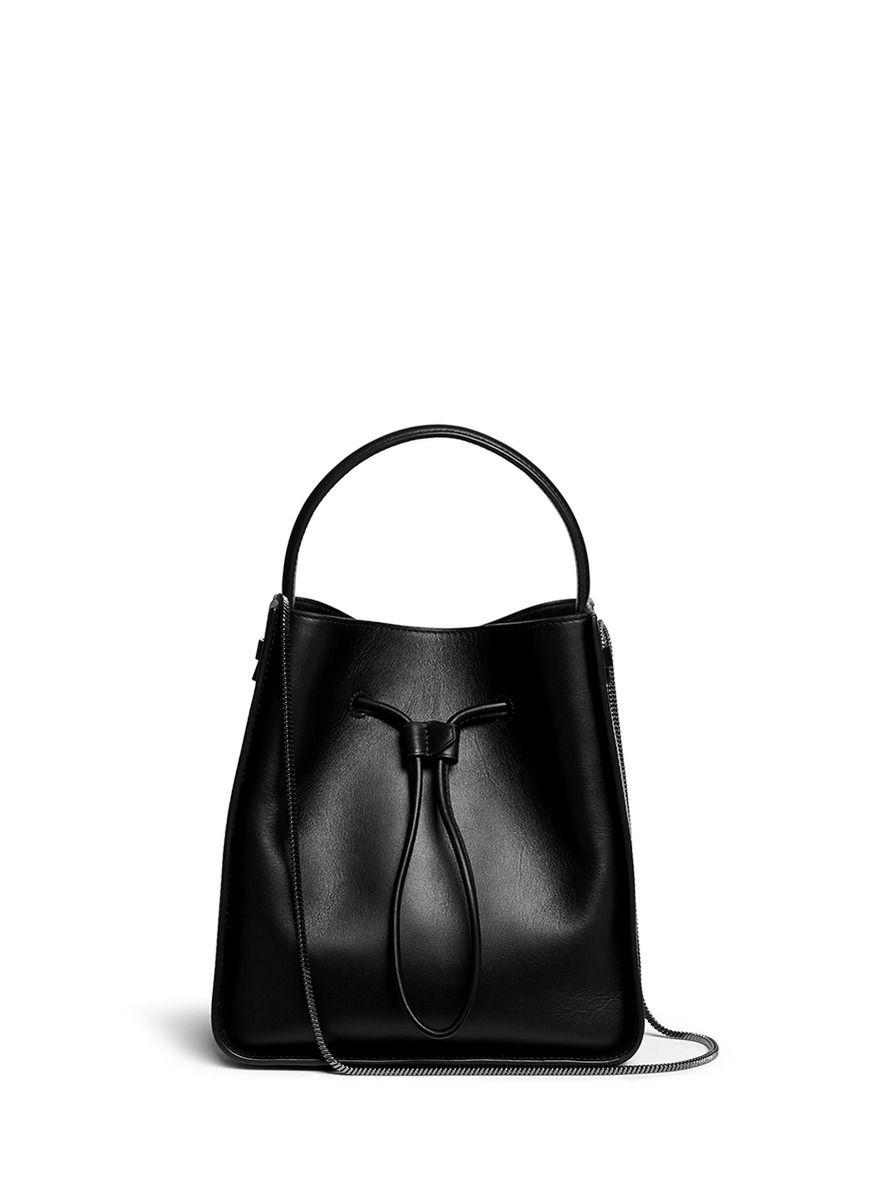 3.1 Phillip Lim Woman Pebbled-leather Shoulder Bag Black Size 3.1 Phillip Lim Clearance Discount Buy Cheap 2018 OW9cIVU4OG