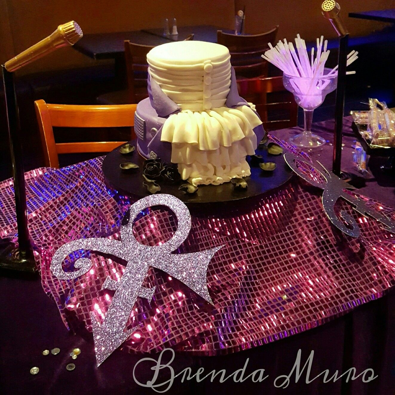 Prince Purple Rain themed event