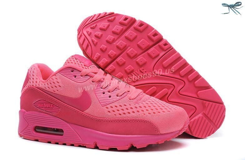 official photos 485f7 26196 ... usa 2013 nike air max 90 premium em womens trainers deep pink knitted  for wholesale acd6b ...