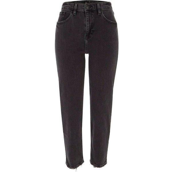 3febe189690 River Island Black Casey slim fit jeans (€68) ❤ liked on Polyvore featuring