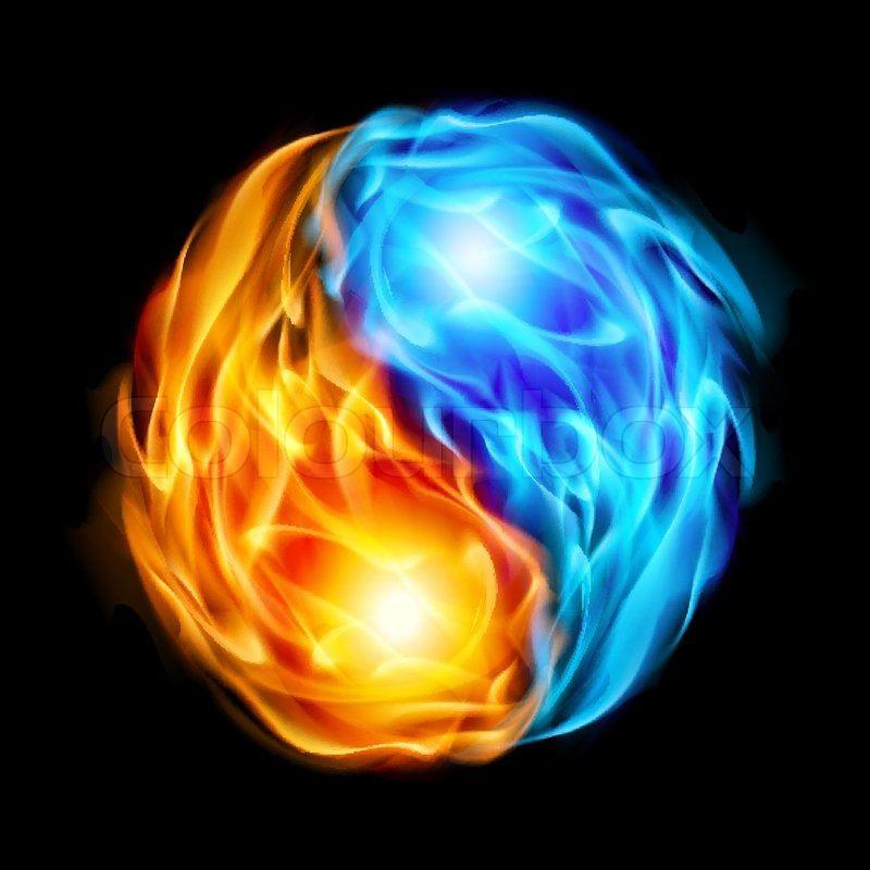 Bildergebnis Für Yin Yang Feuer Wasser Tats Feuer Und Eis