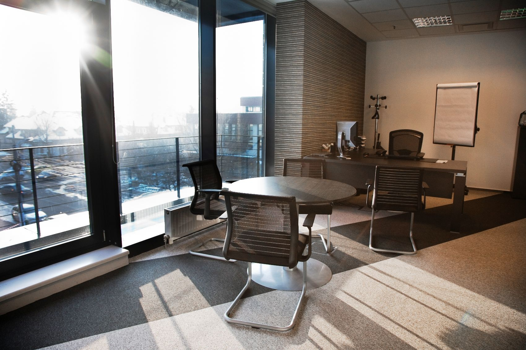 Tewes design nyc executive office seattle interior design - Management Office Office Interior Design