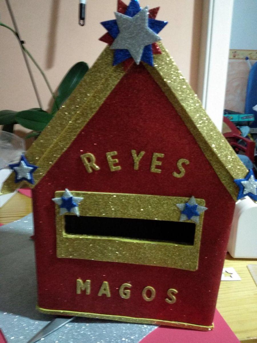 Buzón Reyes Magos Manualidades Navidad Magos