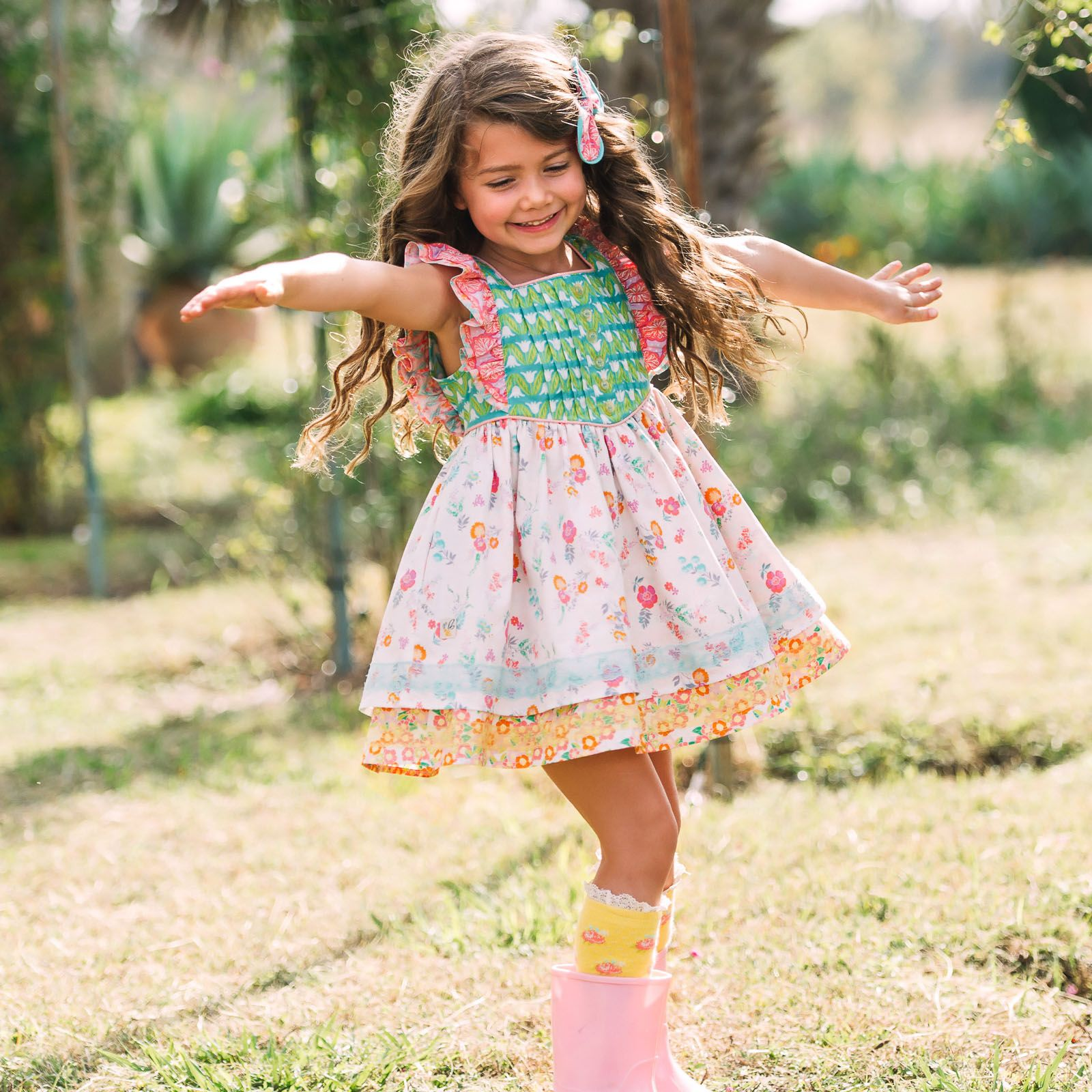 454212c8b2f Wildflowers Clothing~Best Day Ever R1~Fresh Cut Felicity and Posie Socks