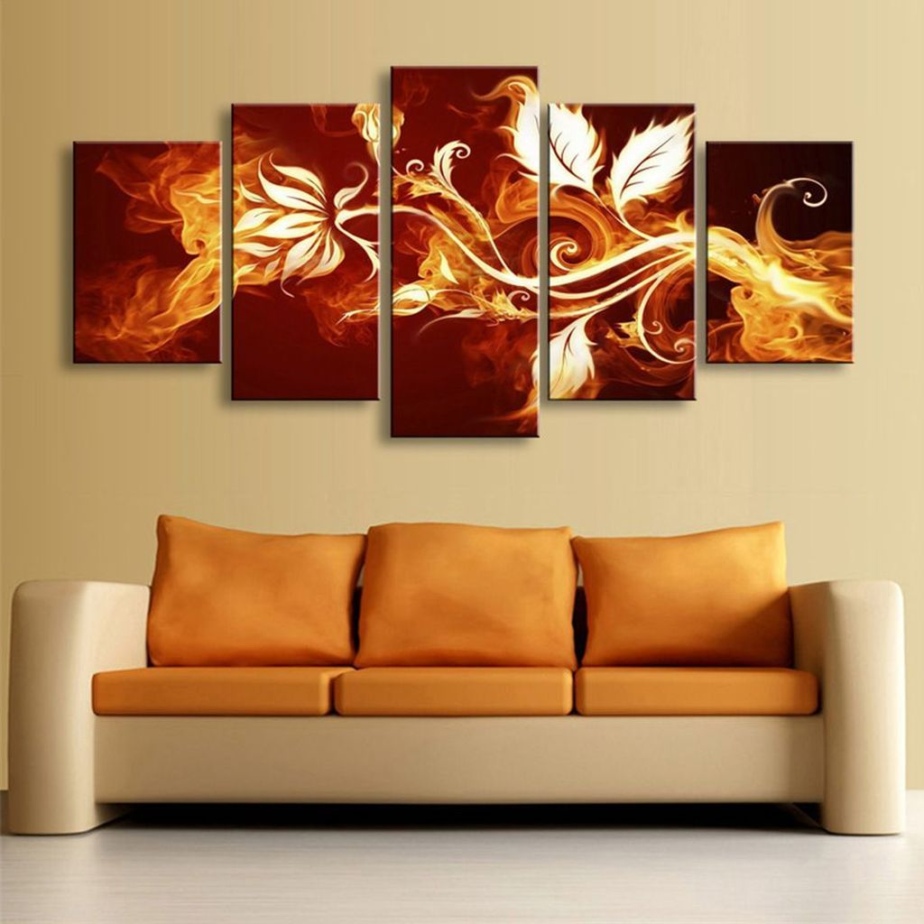 inspiring canvas wall art decor make living room look amazing