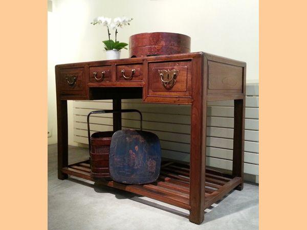 Bureau chinois meubles style asiatique