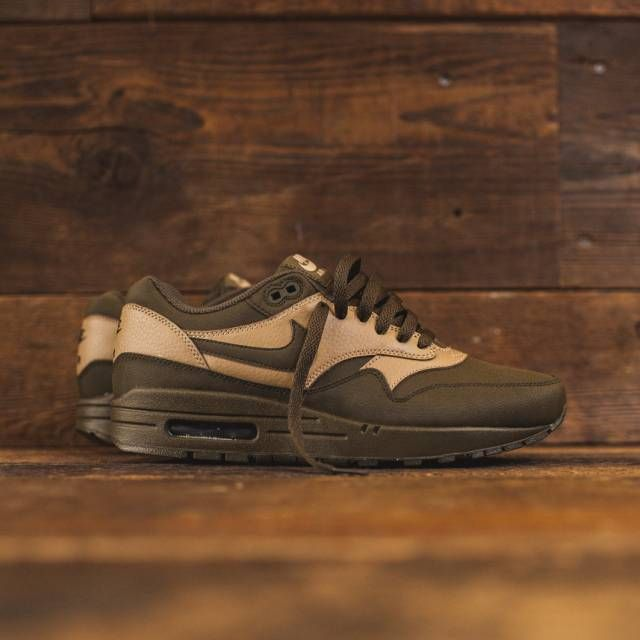 "Nike Air Max 1 Leather PRM ""Dark Loden/Desert Camo"" | Kixify Marketplace"