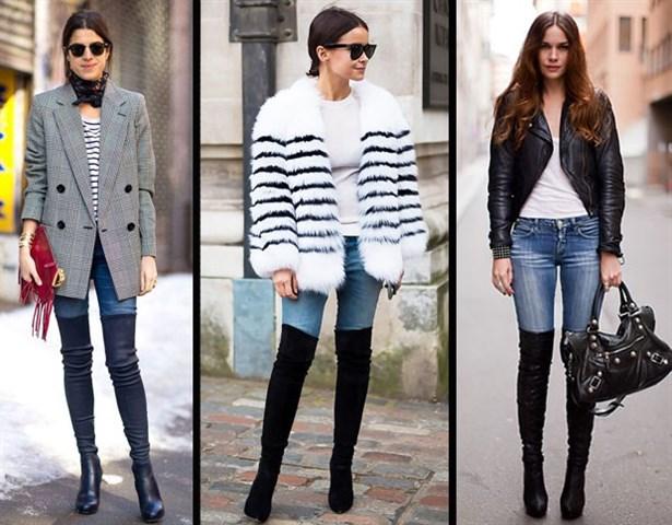 Diz Ustu Cizme Kombinleri Cizme Ile Giyilecek Elbise Kiyafetler Kadin Kiyafetleri Moda Dizustu Cizme