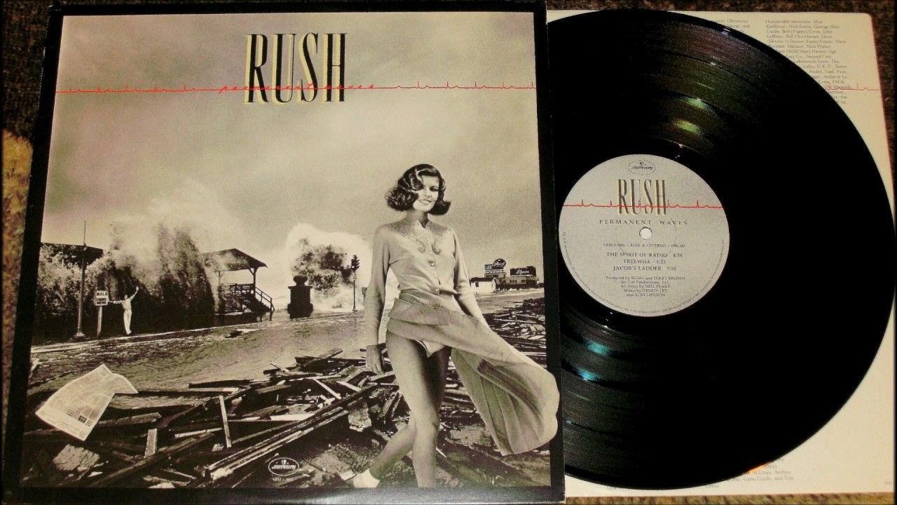 Rush Permanent Waves On Vinyl Con Imagenes