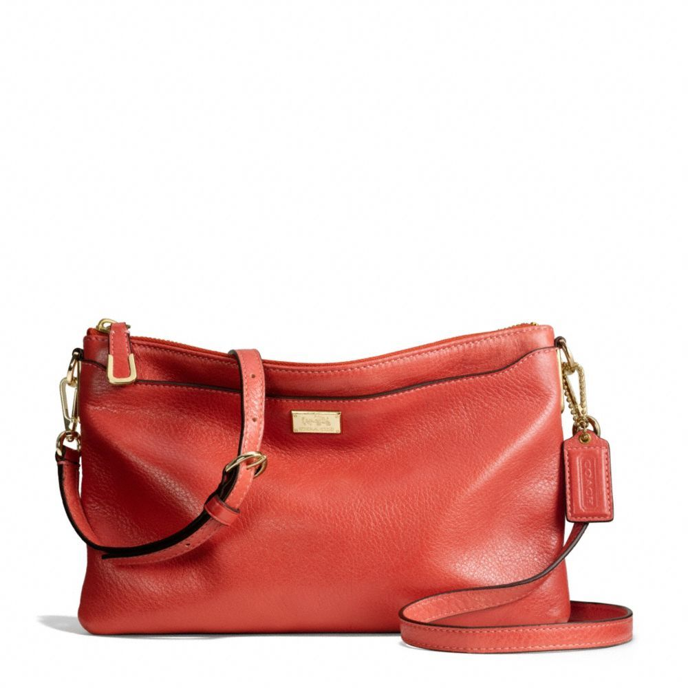 The Madison New Swingpack In Leather from Coach