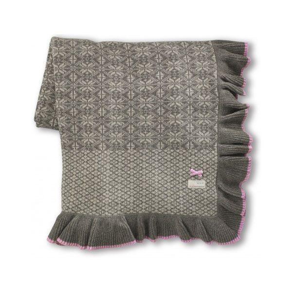 Lovely Knit Huopa 160x130, Harmaa, Odd Molly Home