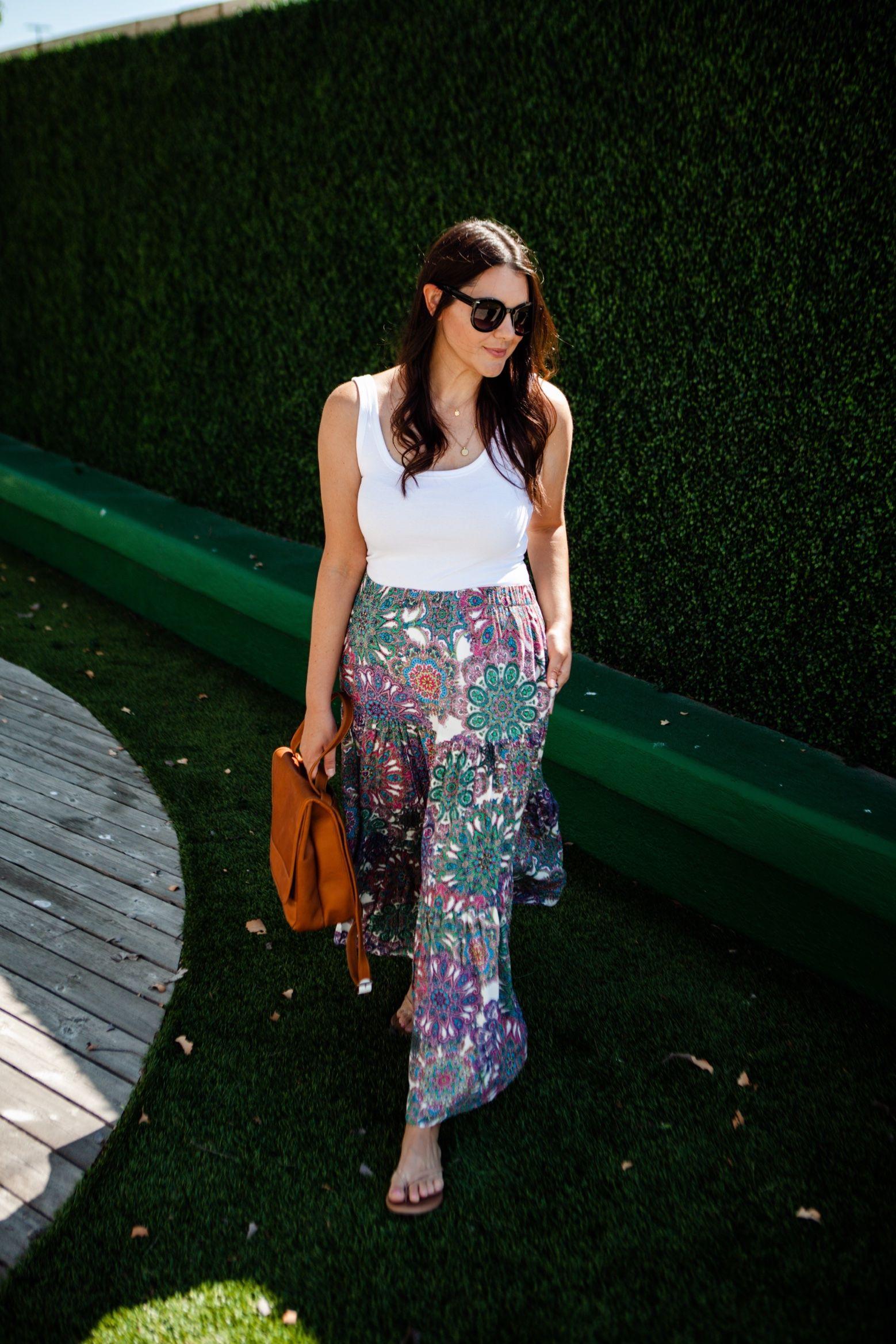 Summer Essential: The Maxi Skirt   Kendi Everyday