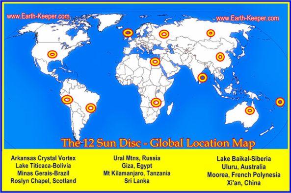 I 12 punti Energetici Planetari.